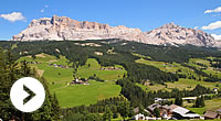 Hiking and trekking into the Dolomites